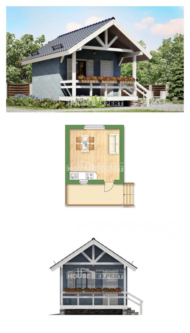 Проект дома 020-001-П | House Expert